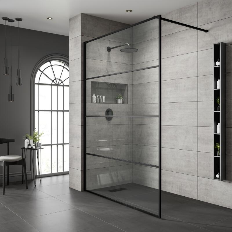 Shower Screen: 900mm Width
