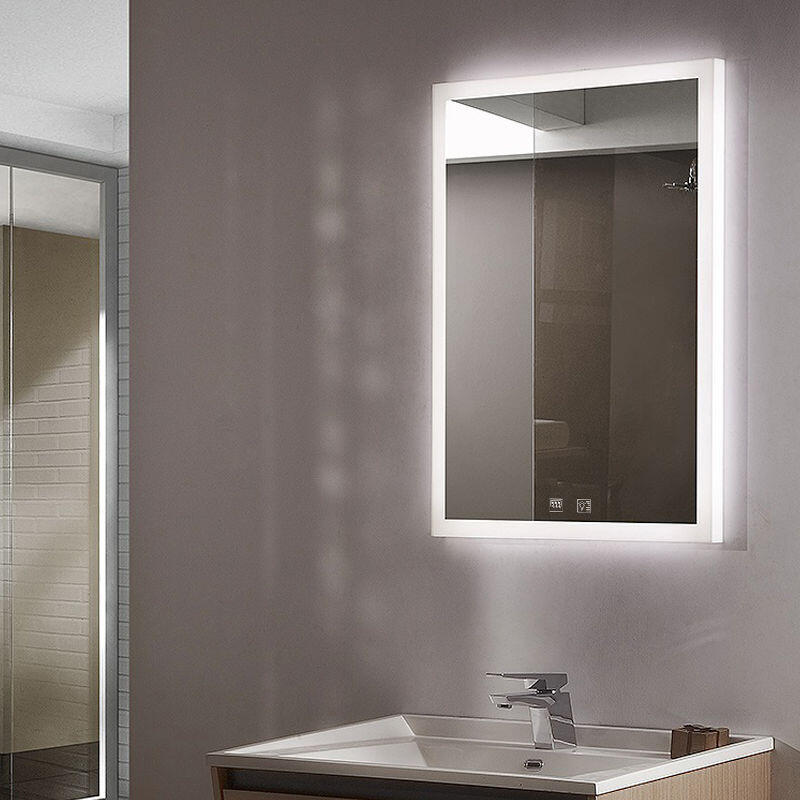 Bathroom Mirror Led Lights Demister, Bathroom Mirror With Lights