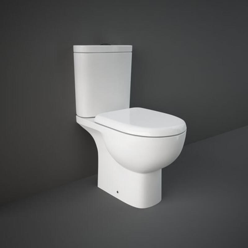 Tonique Close Coupled Full Access Open Back WC Pan