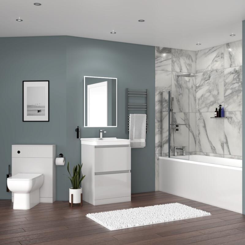 BATH SUITE (Basin Unit, BTW Toilet, Bath)
