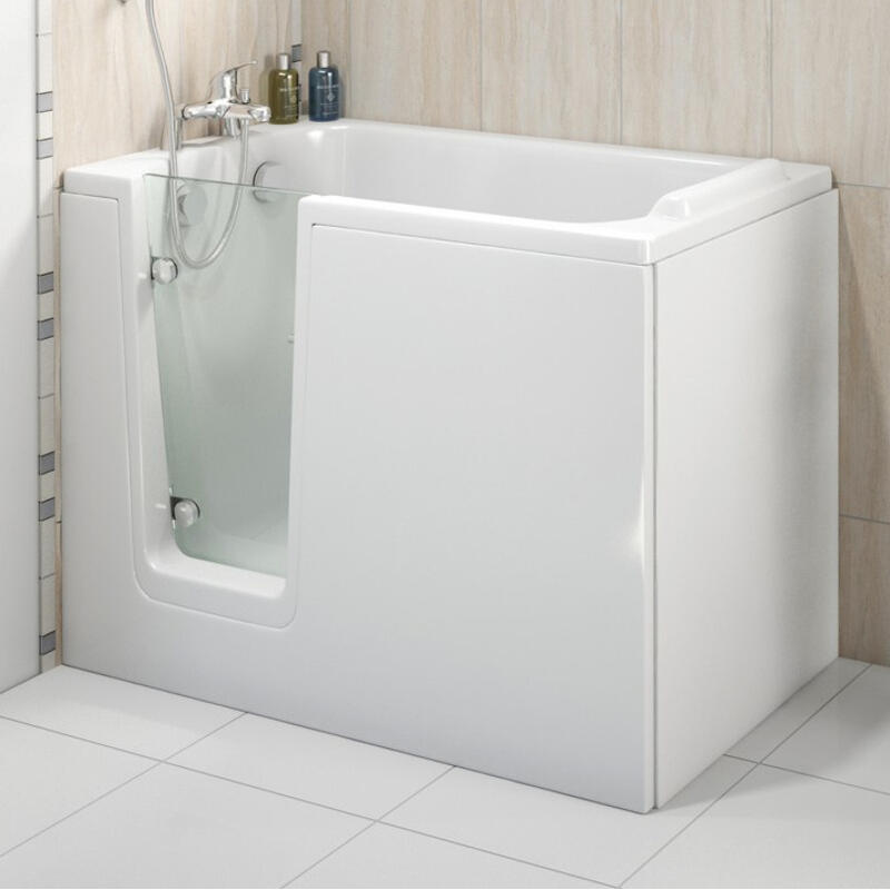 Trojan Comfort 1210 x 650 LH Easy Access Deep Soak Bath White