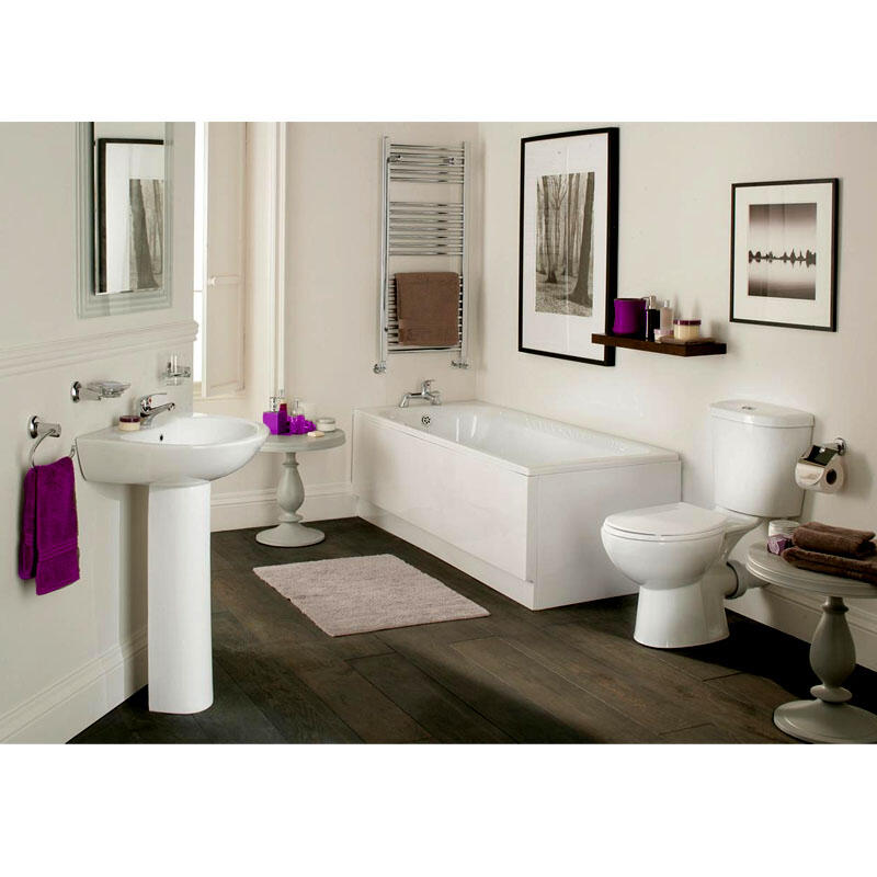 Elite Suite with Bath, Basin, Pedestal, WC, Seat,