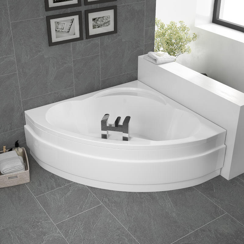 Laguna Plus 1200 Space Saver Corner Bath & Front Panel Buy