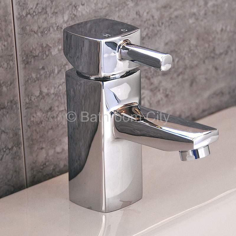 Concept Chrome Basin Mono Mixer Tap with Round Click Waste in Chrome Finish