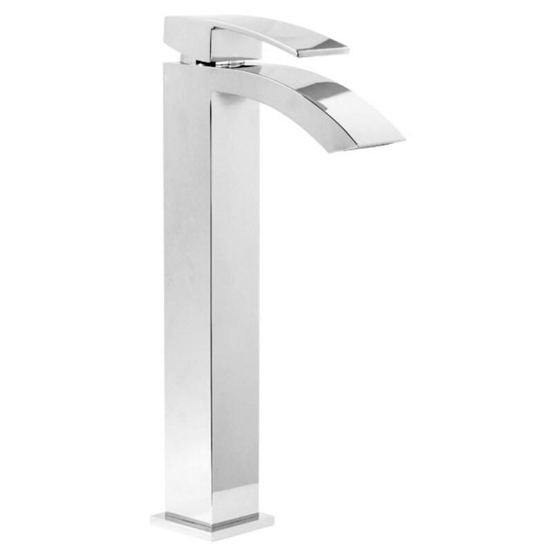 AF Series Tall Basin Mono Mixer Tap and Click Waste [SIDAW]