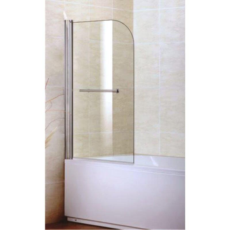BC Single Bath Screen with Towel Rail