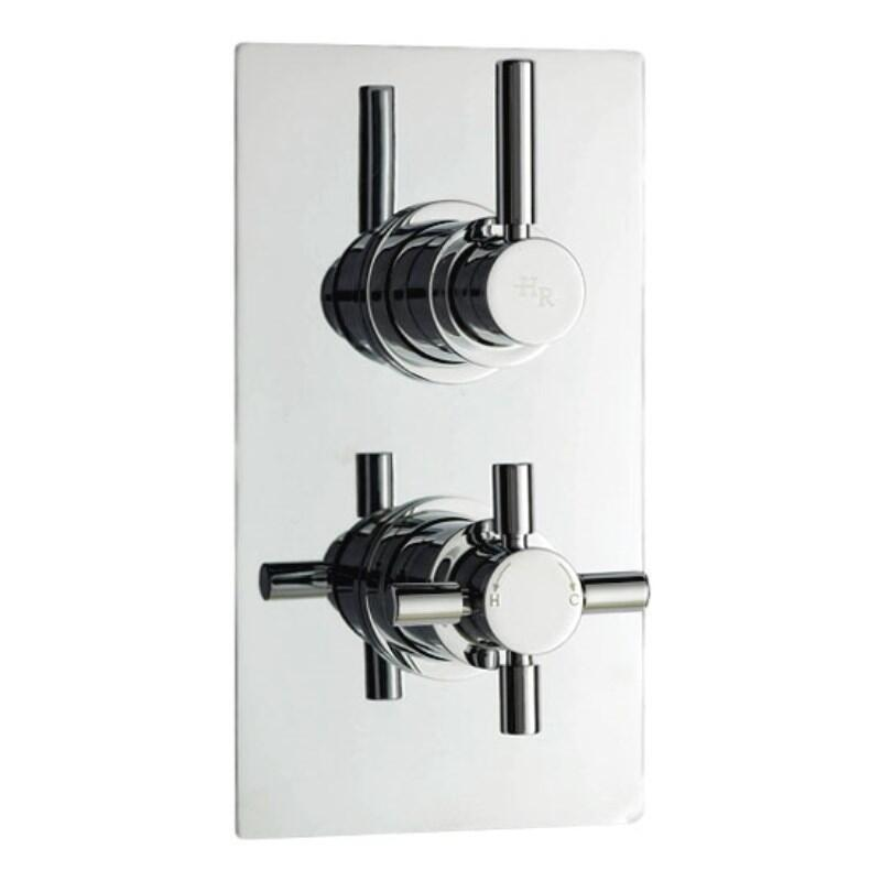 Tec Pura Twin Concealed Thermostatic Shower Valve