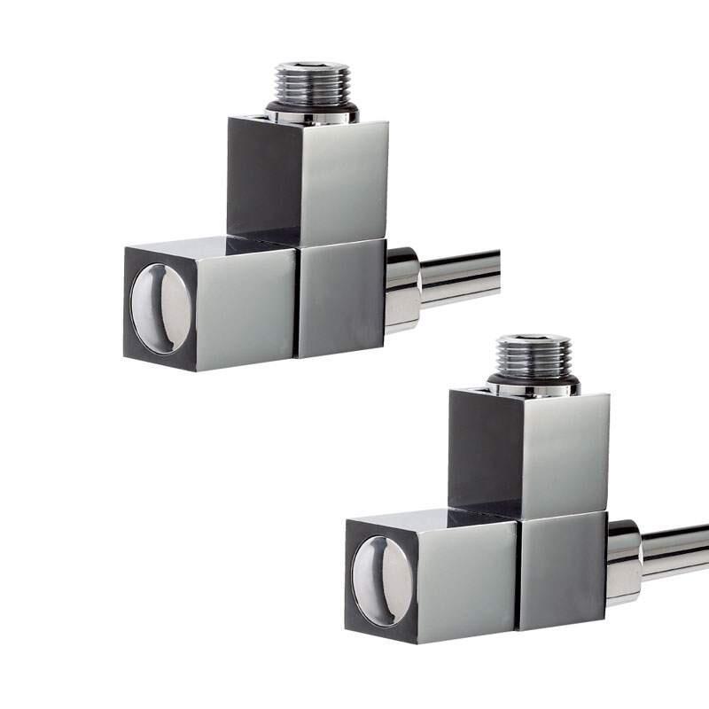 Square Angled Radiator Valves [RAV003]