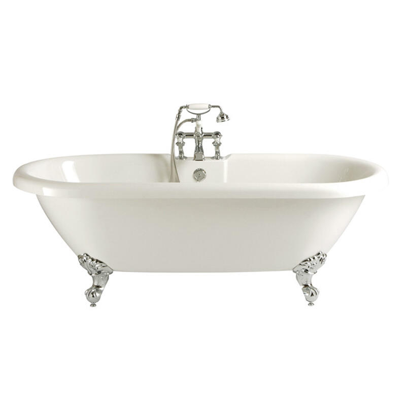 New Oban Double ended Roll Top Bath 2tap