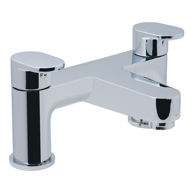 2 hole bath filler deck mounted