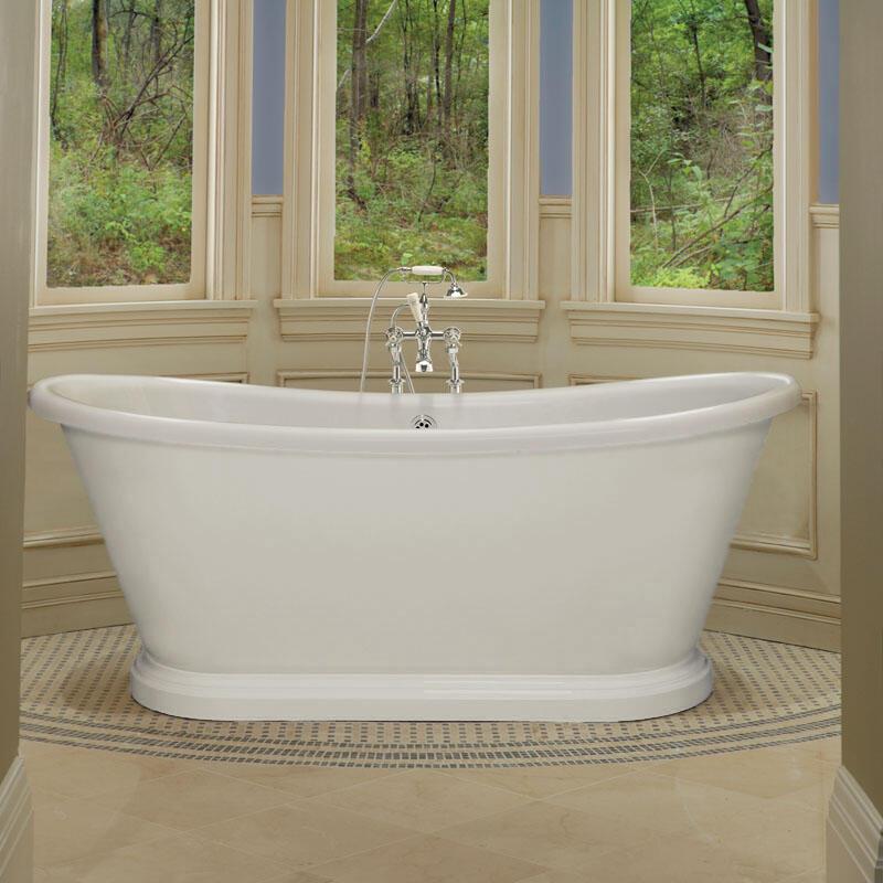 1700mm Double Skinned Boat Bath white