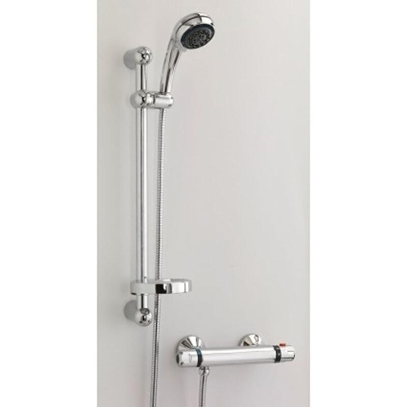 BC EXPOSED VALVE, SHOWER HEAD AND RISER KIT