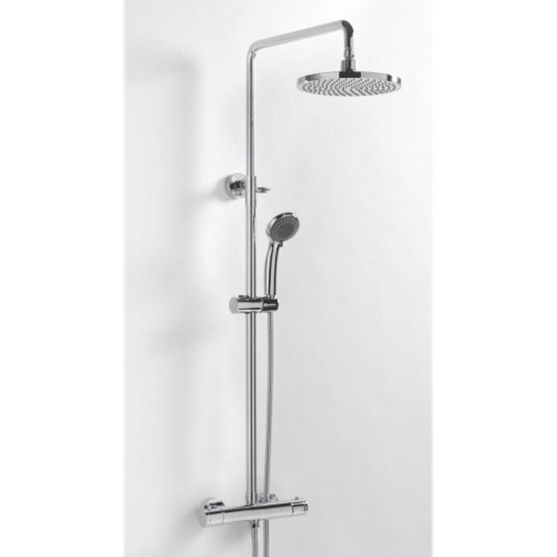 BC DELUXE EXPOSED THERMOSTATIC SHOWER AND RISER SET