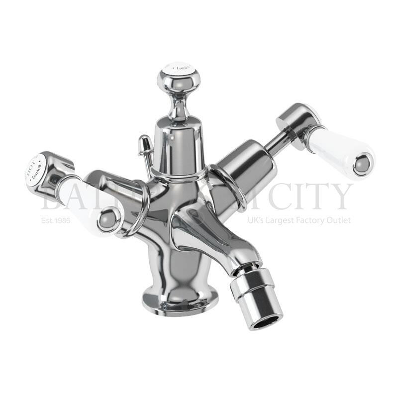 Kensington Bidet Mixer with high central indice with pop up waste
