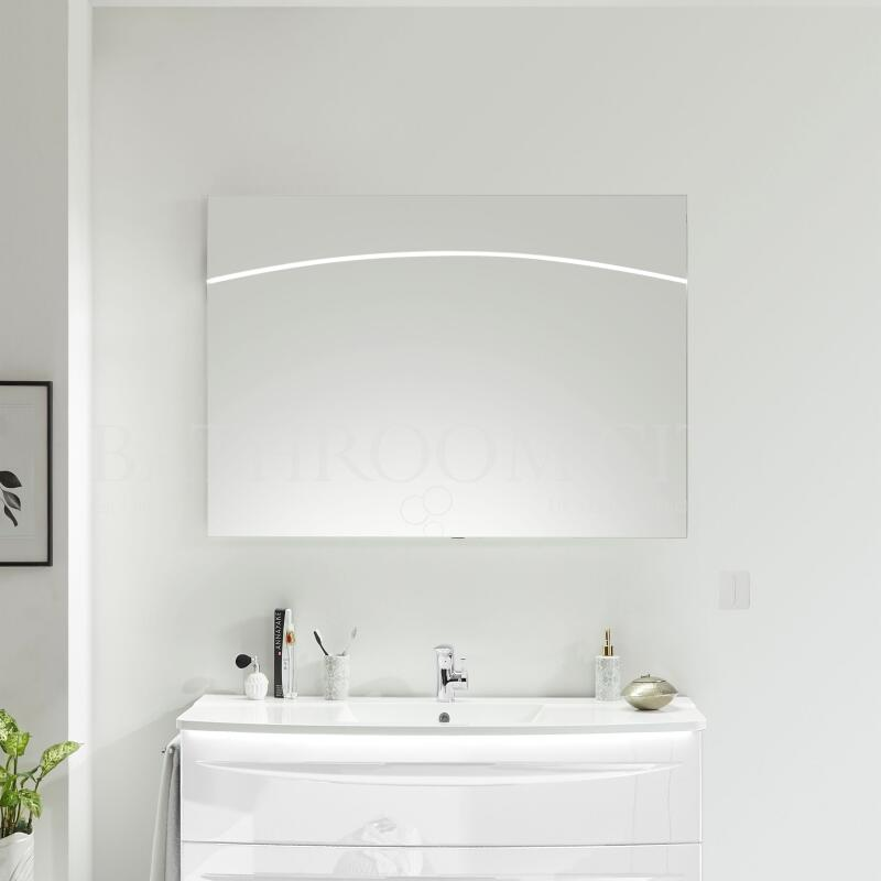 Solitaire 9020 mirror incl LED 800x800x42 PG1