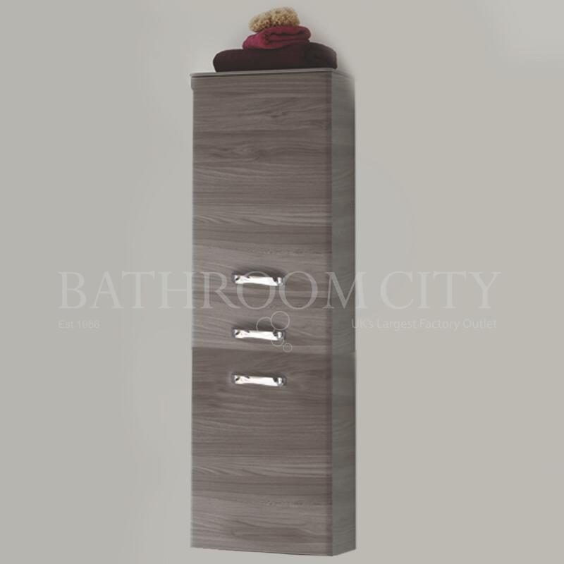 Solitaire 9020 Tall cabinet 2  doors LH 1 drawer 1680x450x330 PG1