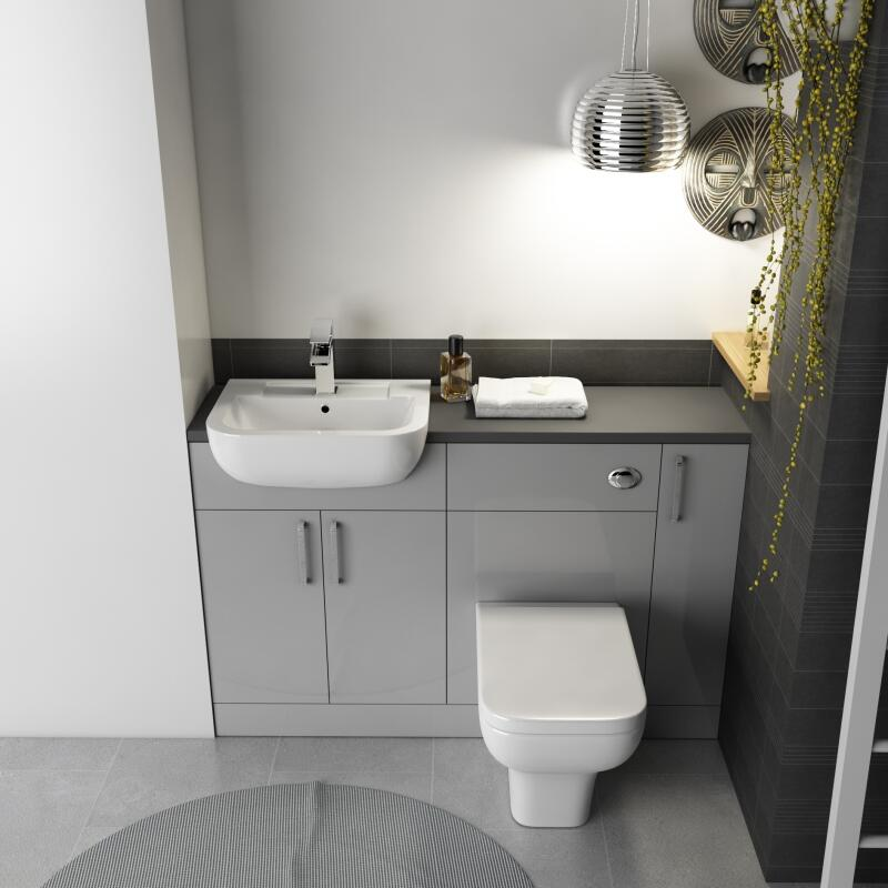 Fitted Suite: Dove Grey