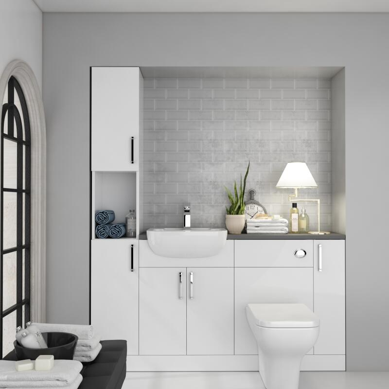 Fitted Suite: White