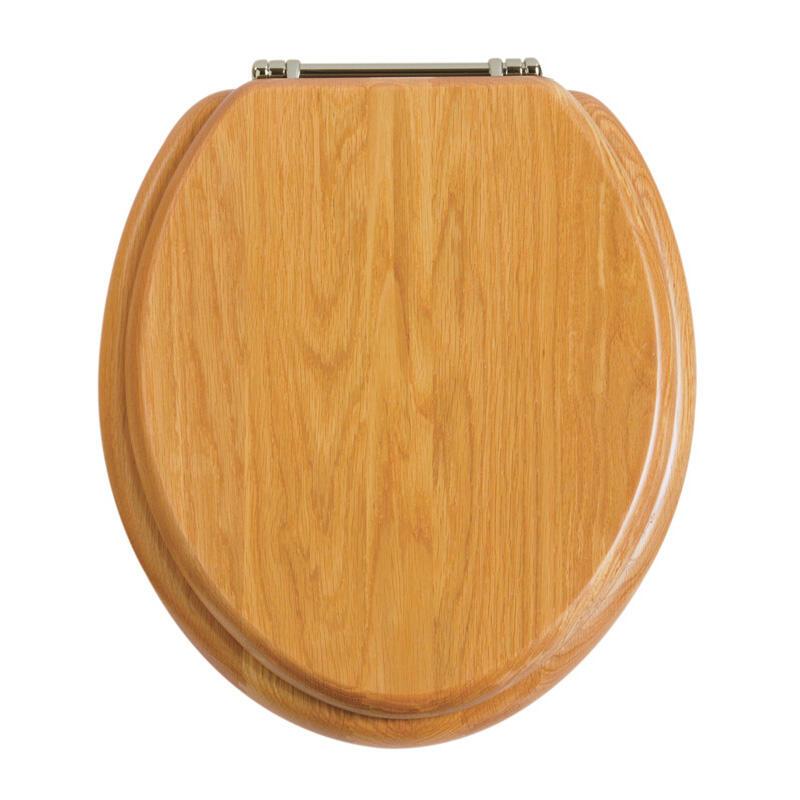 Oak/Chrome Seat
