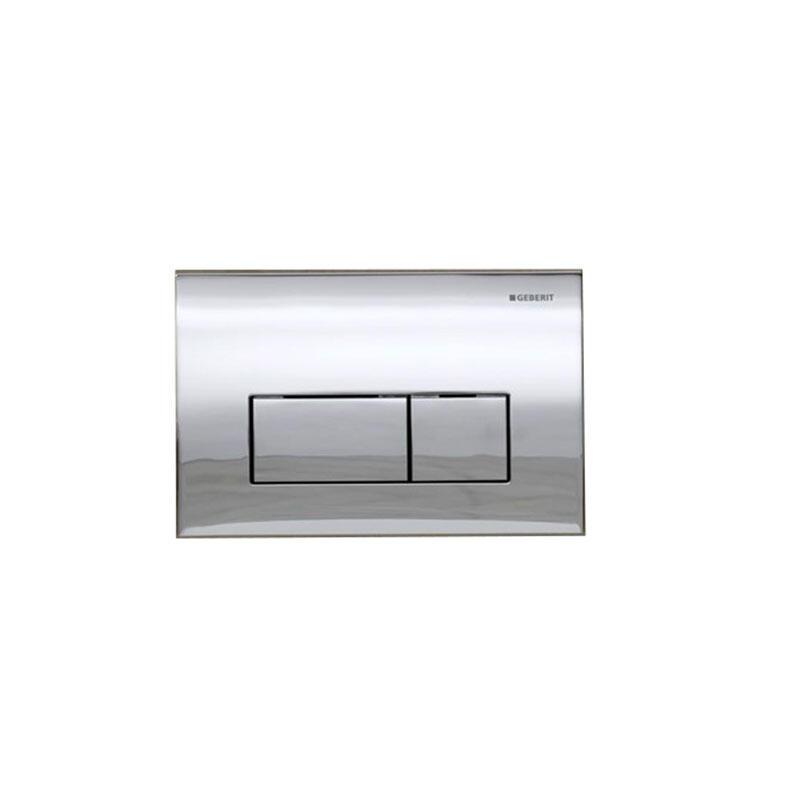 Kappa50 dual flush plate,stainless steel