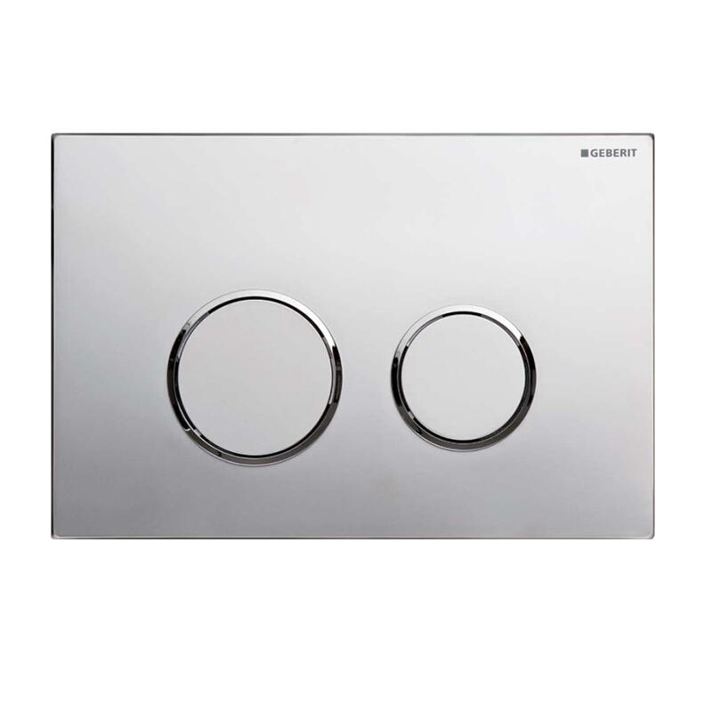 Sigma20 dual flush plate,chrome gloss