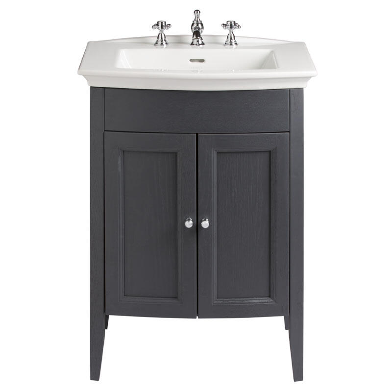 CLASSIC VANITY UNIT WITH BLENHEIM BASIN IN GRAPHITE FINISH