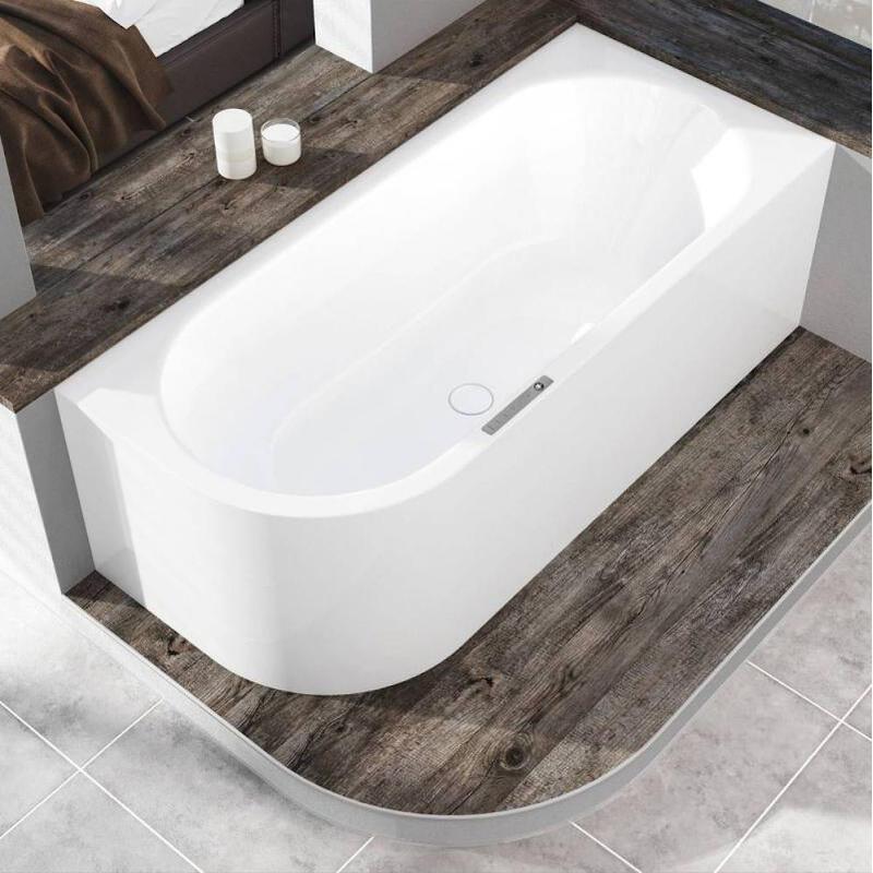Centro Duo Left Hand Bath: 1700 x 750mm
