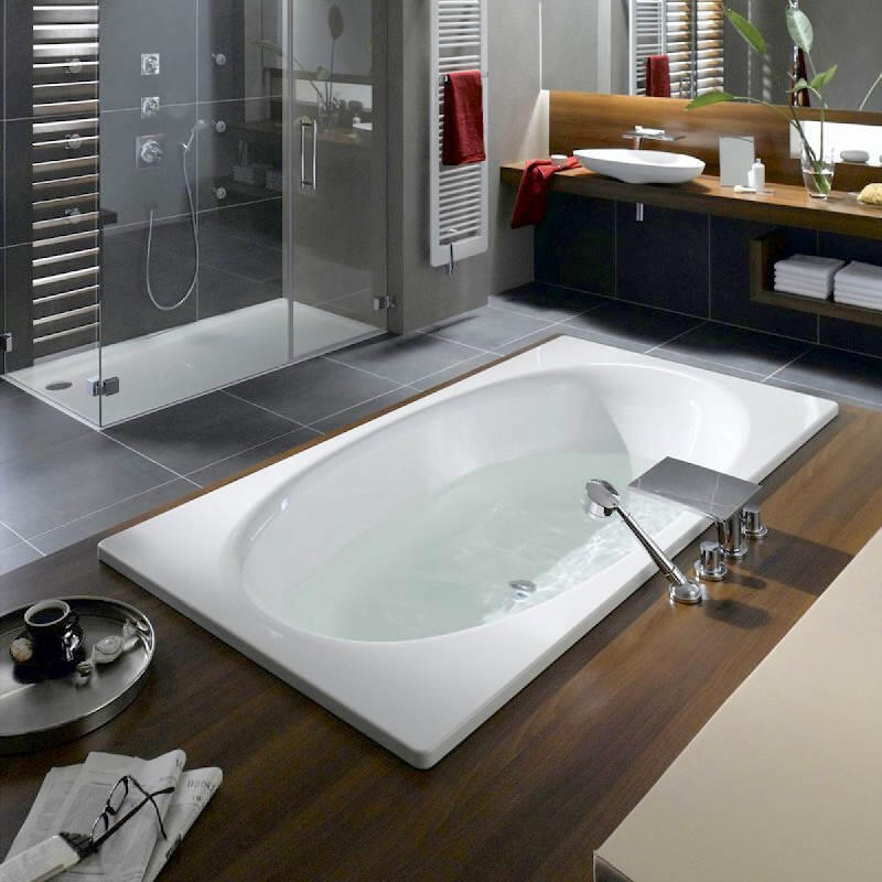 Ellipso Duo Bath: 1900 x 1000mm