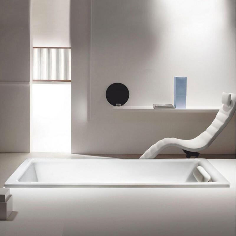 (IN STOCK) Puro Bath: 1800 x 800mm, No tap holes