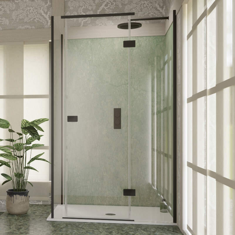 Illusion Shower Door - Left Hand Corner