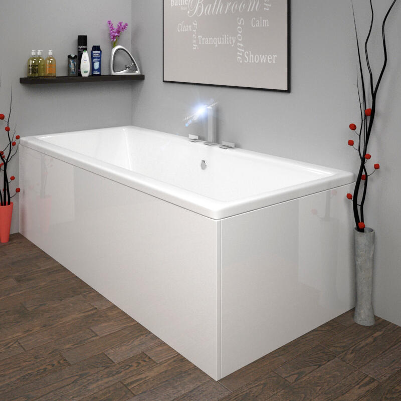 ACRYLIC 1100 BATH PANEL WHITE