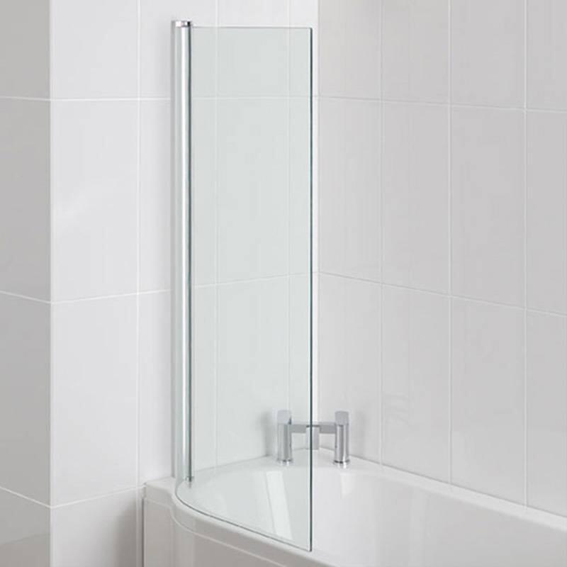 Advantage showerscreen 6mm Easyclean Silver