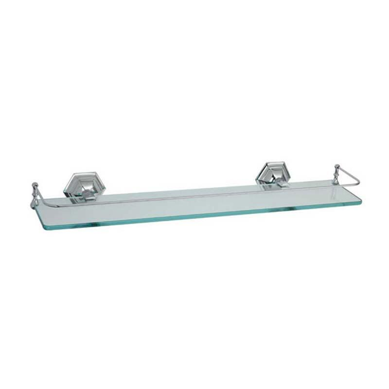 Astoria Wall Mounted Shelf Chrome