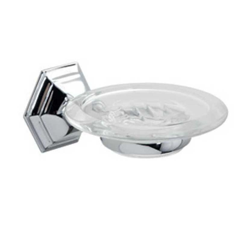 Astoria Wall Mounted Soap Dish Chrome