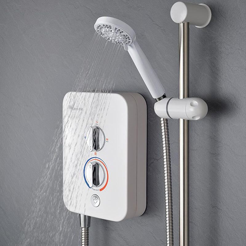 BC ELECTRIC SHOWER WHITE 8.5KW
