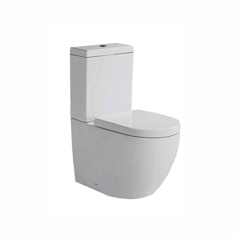 BC HAMPSHIRE CLOSE COUPLED TOILET WITH SOFT CLOSE SEAT