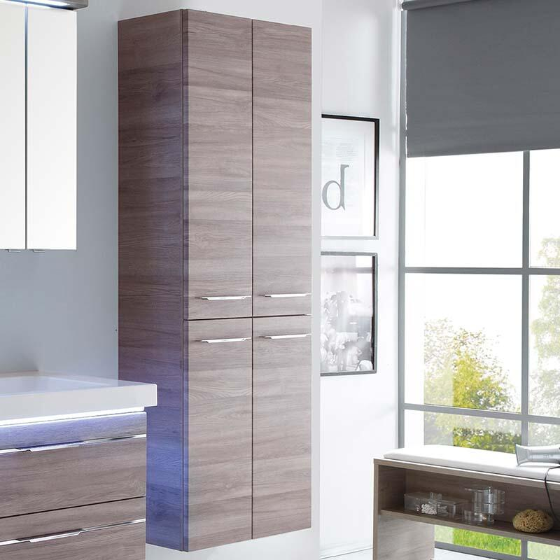 Balto 4 Door Tall Boy Bathroom Storage, Tall Bathroom Storage Cabinets