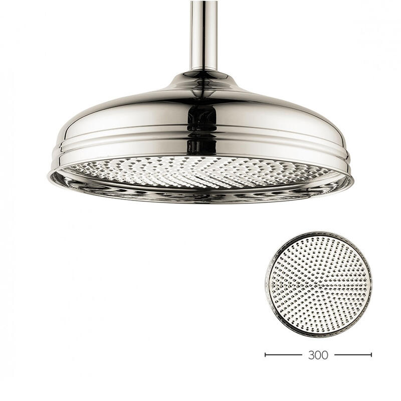 Belgravia 12 inch Shower Head Nickel