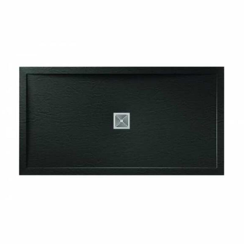 Slate Black Tray: 1000mm x 800mm