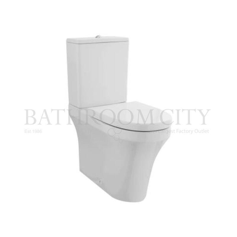 Comfort H Flush to Wall Pan Cistern Seat
