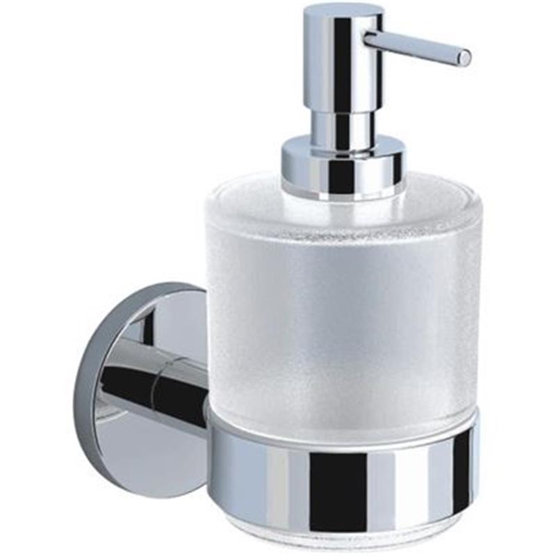 Continental Soap Dispenser, Glass Bottle