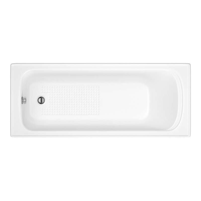 County 5mm Bath by Trojan N/G White