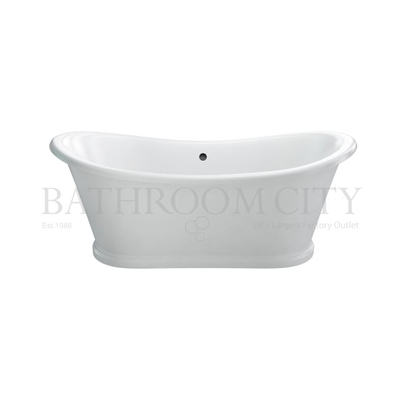 Admiral 1650 Free standing double ended bath