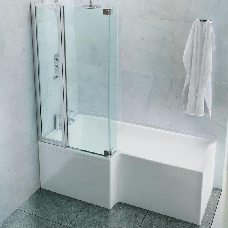 EcoSquare Bath: Right Hand