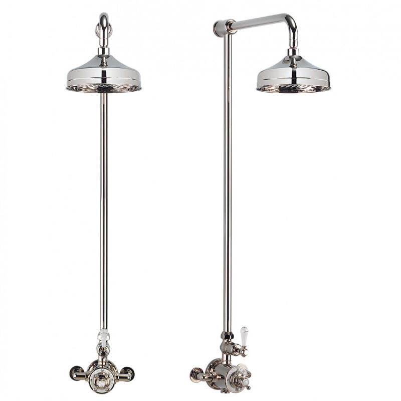 Exposed Thermostatic Shower Valve with 12