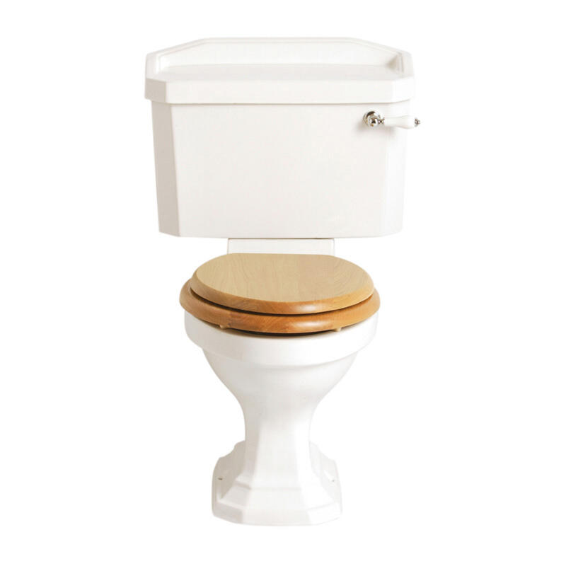 Granley White Pan Close coupled and cistern