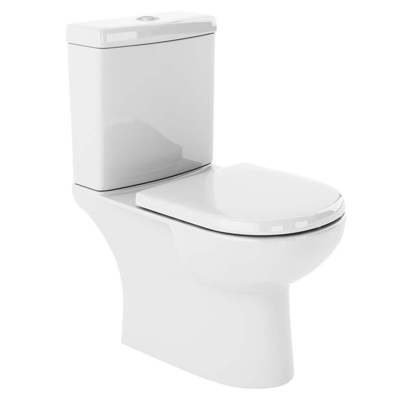 Lawton Close Coupled toilet and soft close seat