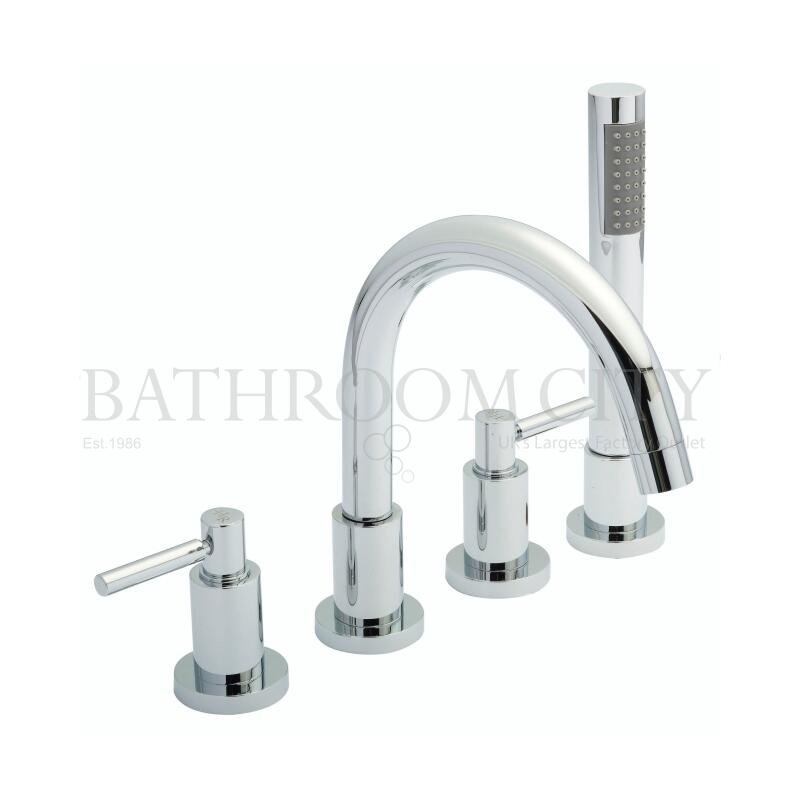 Lever Tec 4 Tap Hole Bath Mixer