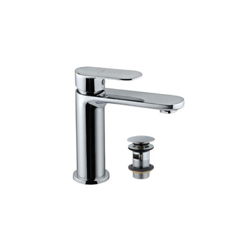Lyric Single Lever Basin Mixer with Click Waste