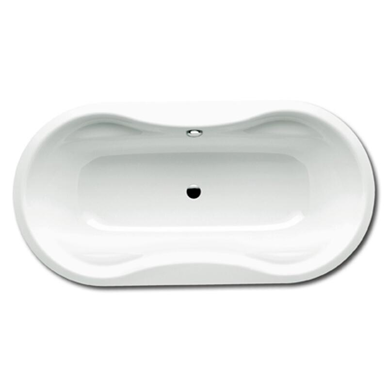 Mega Duo Oval Bath: 1800 x 900mm